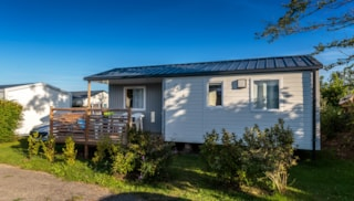 Mobile home 2 rooms 26m² with half-covered terrace