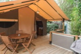 Rental - Freeflower Confort+ 37 M² (2 Bedrooms) - Sheltered Terrace 12 M² - Flower Camping La Rouillère