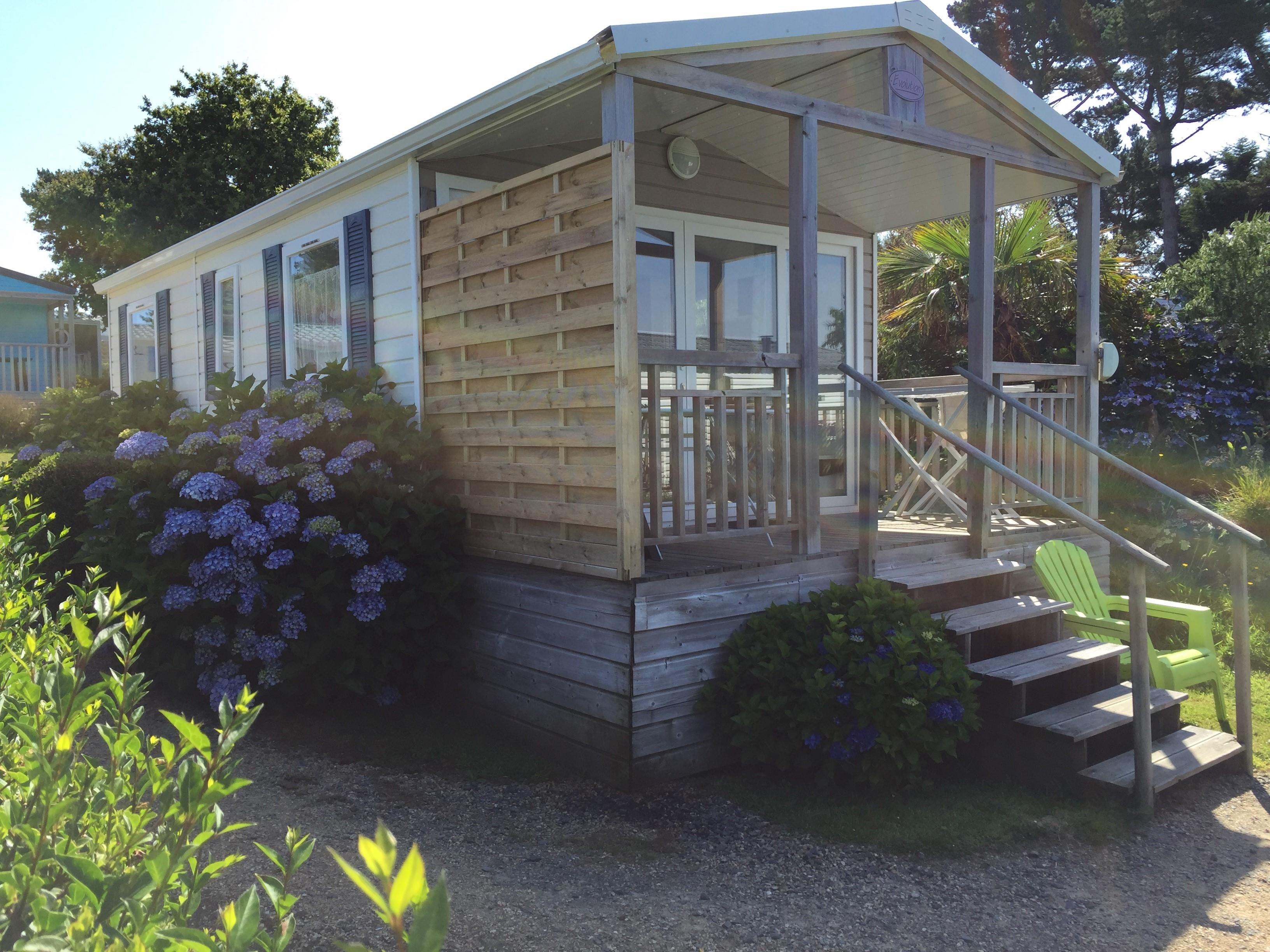 Location - Mh Confort Vue Mer 22M² - Camping Armor Loisirs