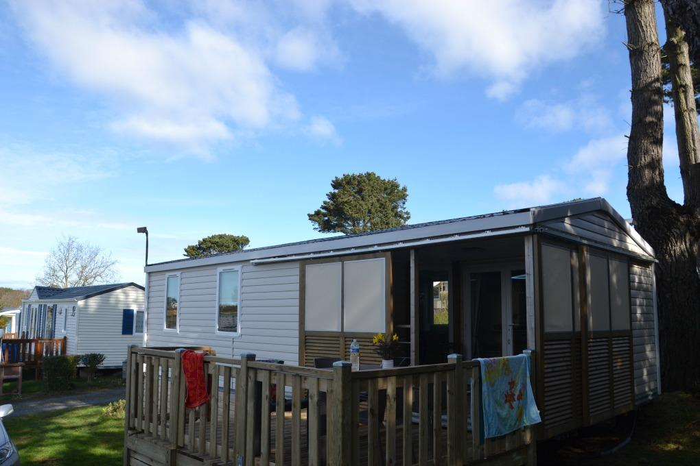 Location - Mh Gd Confort Vue Mer (4 Adultes + 2 Enfant) 31M² - Camping Armor Loisirs