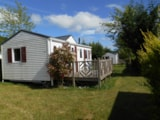 Rental - Mobile home - 2 bedrooms - 1 bathroom - Louisiane Oceane - Castel Château de Poinsouze