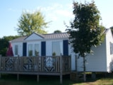 Rental - Mobile home - 2 bedrooms - 1 bathroom - Louisiane Flores - Castel Château de Poinsouze