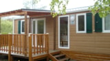 Rental - Chalet Mobile Nirvanna 33M² (3 Rooms + Terrace) - Camping Bois de Gravière