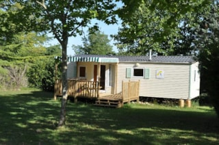 Mobile-home  Beynac25.8 m², 8.60x3 sheltered terrace