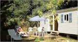 Rental - Mobile-Home Hautefort, 23.4M², 7.80X3 No Sheltered Terrace - Camping Puynadal Brantôme