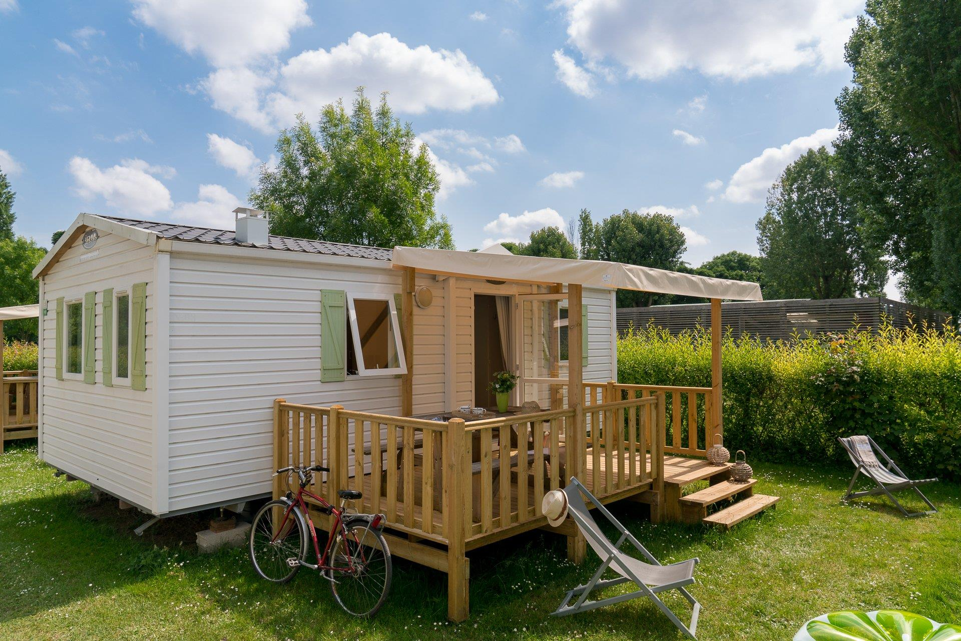 Accommodation - Cottage 2 Bedrooms ** - Camping Sandaya Paris Maisons Laffitte