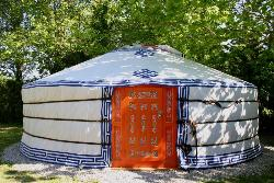 Mongol's Traditional Yurt