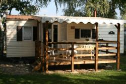Rental - Mobile Homes 3, 6, 9 - Camping La Ferme du Lac