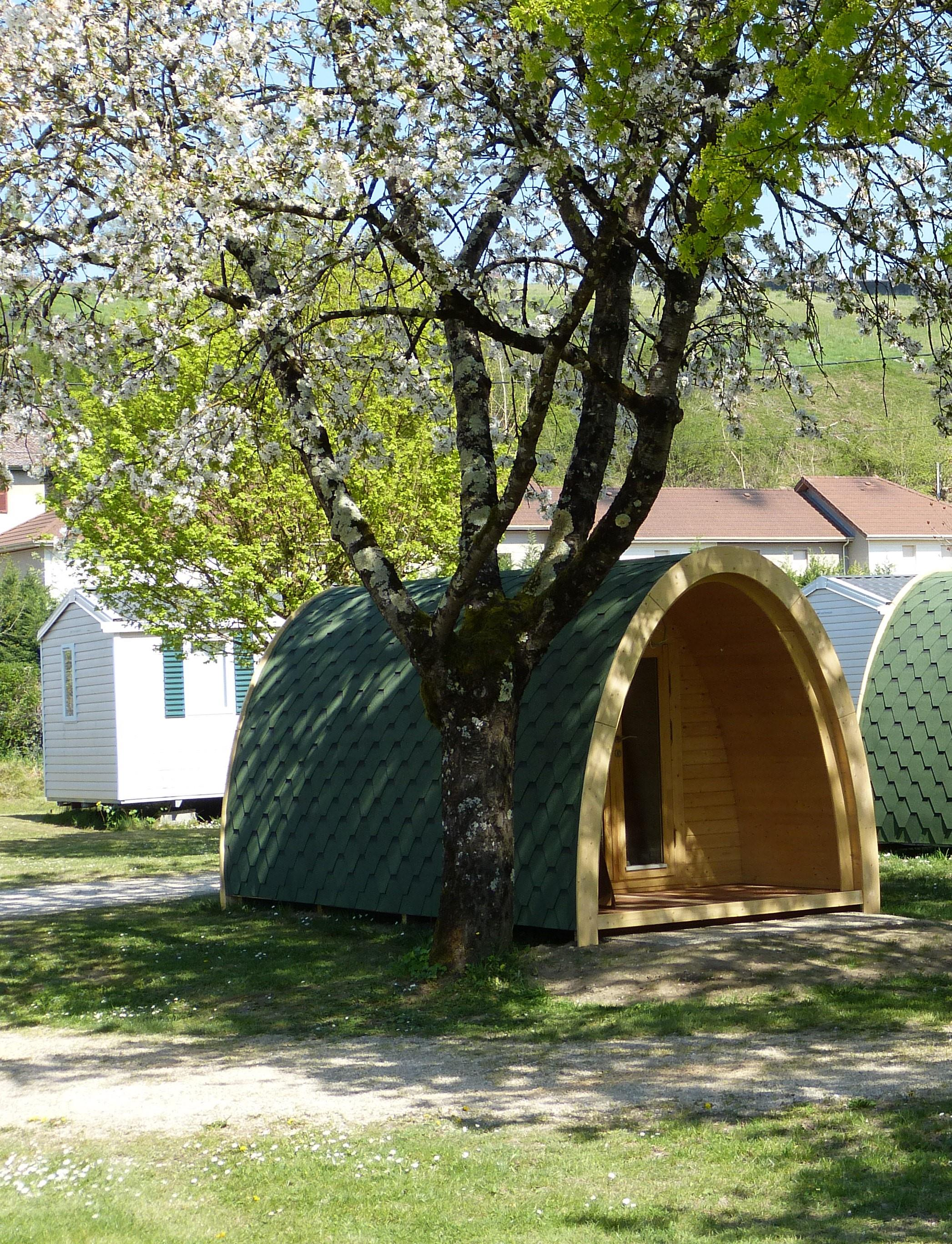 Accommodation - Wooden Chalet (Pod 2020) - Camping Les Bords du Guiers