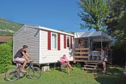 Rental - Mobil Home Titania 3 Bedrooms 29.7M² - Camping La Ravoire