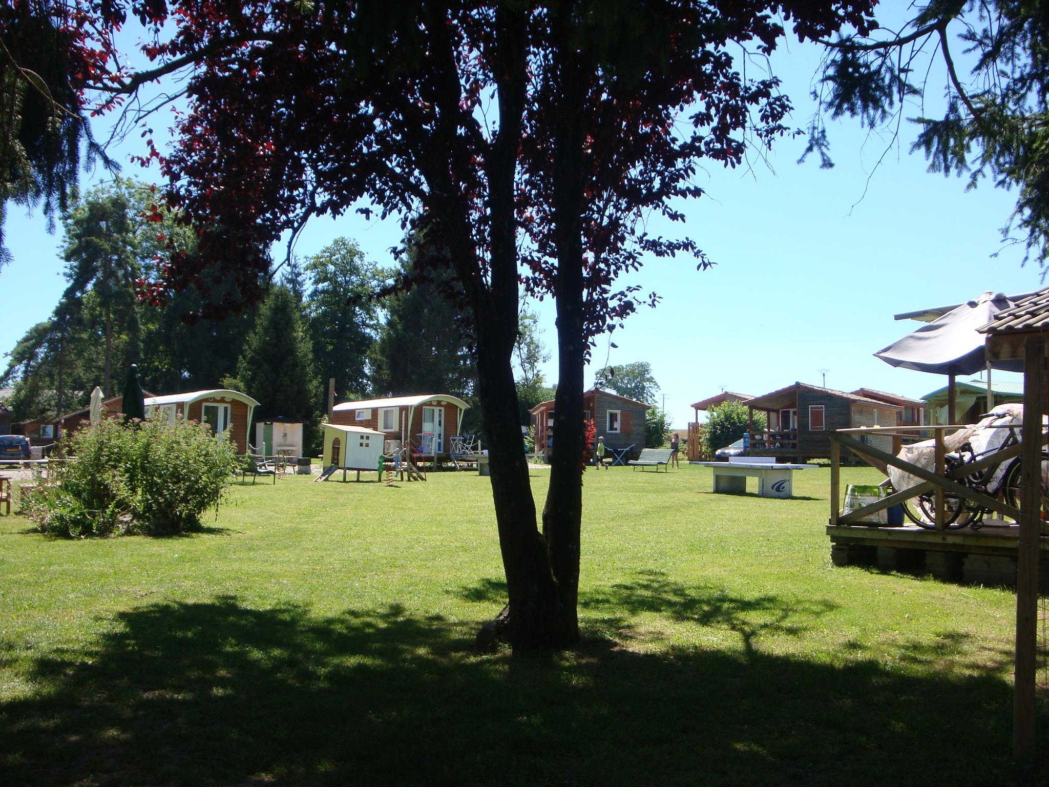 Establishment Camping La Pourvoirie des Ellandes - Excenevex plage