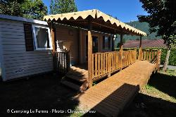 Mietunterkunft - Mobilheim Helios - Adapted To The People With Reduced Mobility - Camping La Ferme