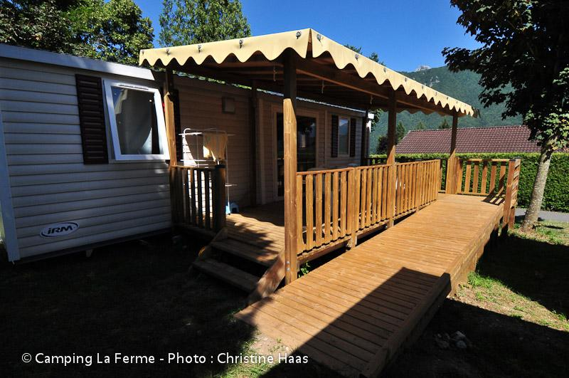Wheelchair friendly Camping La Ferme - Lathuile