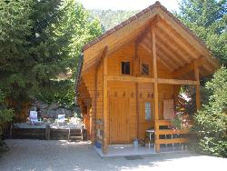 Locatifs - Chalet Savoyard 35m² 2 chambres - Camping les Fontaines