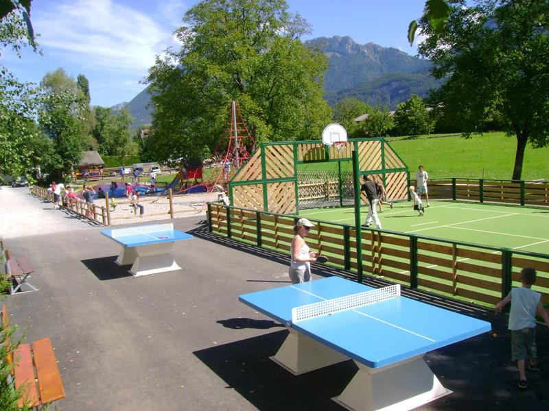 Sport activities Camping les Fontaines - LATHUILE