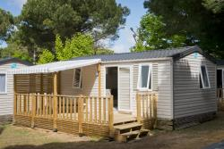 Location - Family Confort 30M² 2 Chambres - Camping l'Idéal