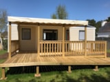 Rental - Mobile-home 31m² PMR 2 bedrooms - sheltered terrace (adapted to the people with reduced mobility) - Camping de Kérabus