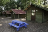 Rental - Hiking lodge with heating and fridge - Charme Camping Heidepark