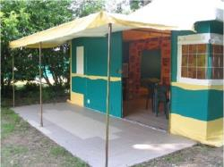 Canvas bungalow (20m²), without toilet blocks, 2 bedrooms