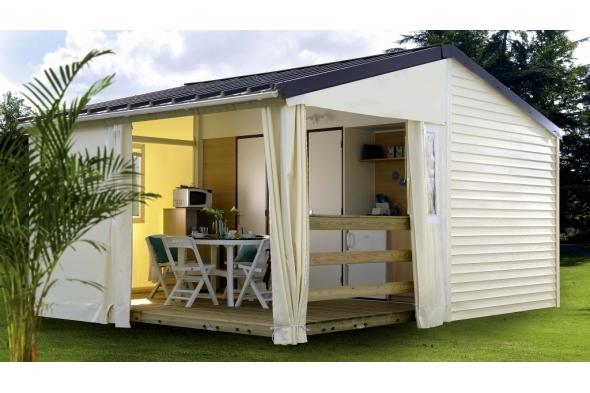 Location - Tit'home 2014 - 2 Chambres - Sans Sanitaires - Camping Le Coin Charmant