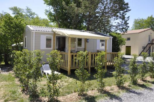 Mobil home Big Espace - 32m² - 3 bedrooms - air-conditioning