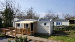 Mobile-Home Adapted To The People With Reduced Mobility - 34.9M² - 2 Bedrooms - Air-Conditioning