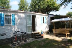 Mobile home DOMINO 2 bedrooms 25m², July and August (arrival and departure on Sunday and Wednesday)