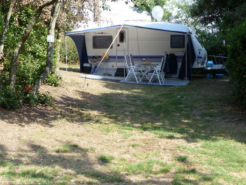 Comfort Package: Pitch, car, tent or caravan or camping-car, electricity