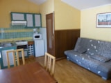 Rental - Bungalow 1 bedroom 20m² - Camping LE MARTINET ROUGE