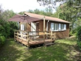 Rental - Chalet 2 Bedrooms 35m² - Camping LE MARTINET ROUGE