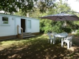Rental - Mobil home 2 chambres 28m² JARDIN (IRM) - Camping LE MARTINET ROUGE
