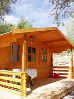 Rental - Wooden Cabin (No Kitchen Or Bathroom) - Camping Isábena