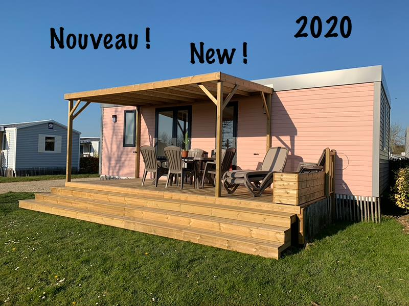 Mobil-home 3 chambres GRAND LUXE 2020