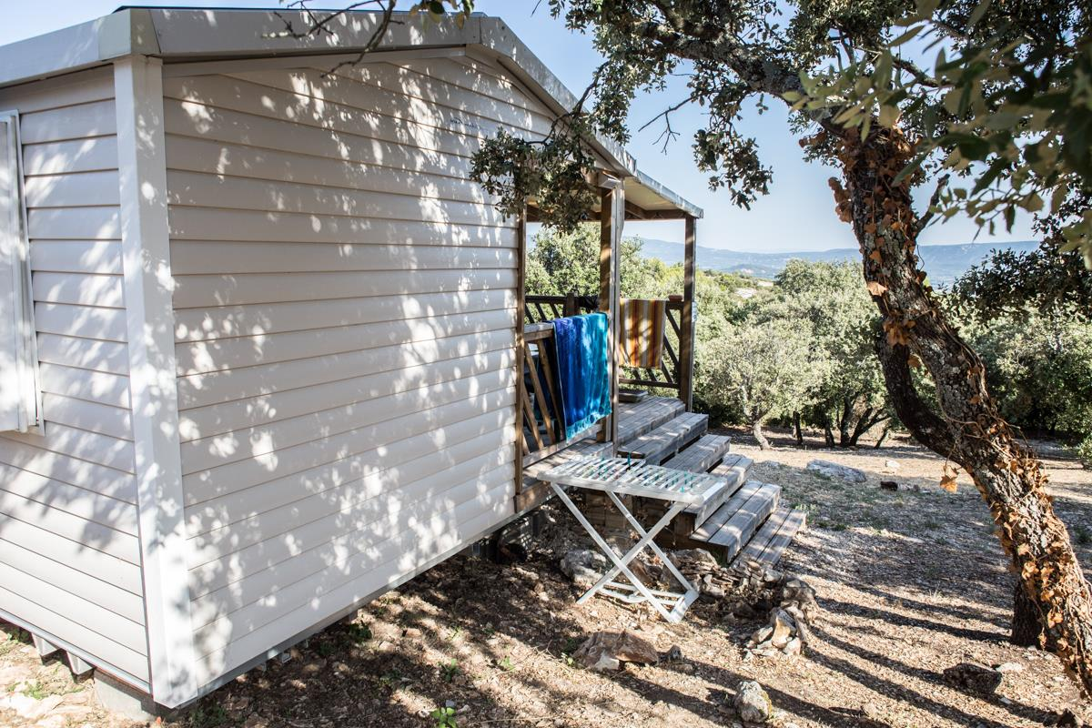 Mobile home LUBERON 26m² gamme CONFORT climatisé