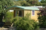 Rental - Chalet Tonga 17m² + sheltered terrace - Domaine du Camping des Sources