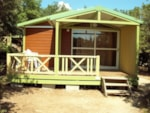 Rental - Chalet Luxe 25m² + sheltered terrace - Domaine du Camping des Sources