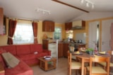 Rental - 2 bedroomed mobil home Esprit with Terrace and airconditioning - La Réserve