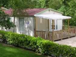 Huuraccommodatie - Air Conditionned Confort Mobil-Home - Domaine des BLACHAS