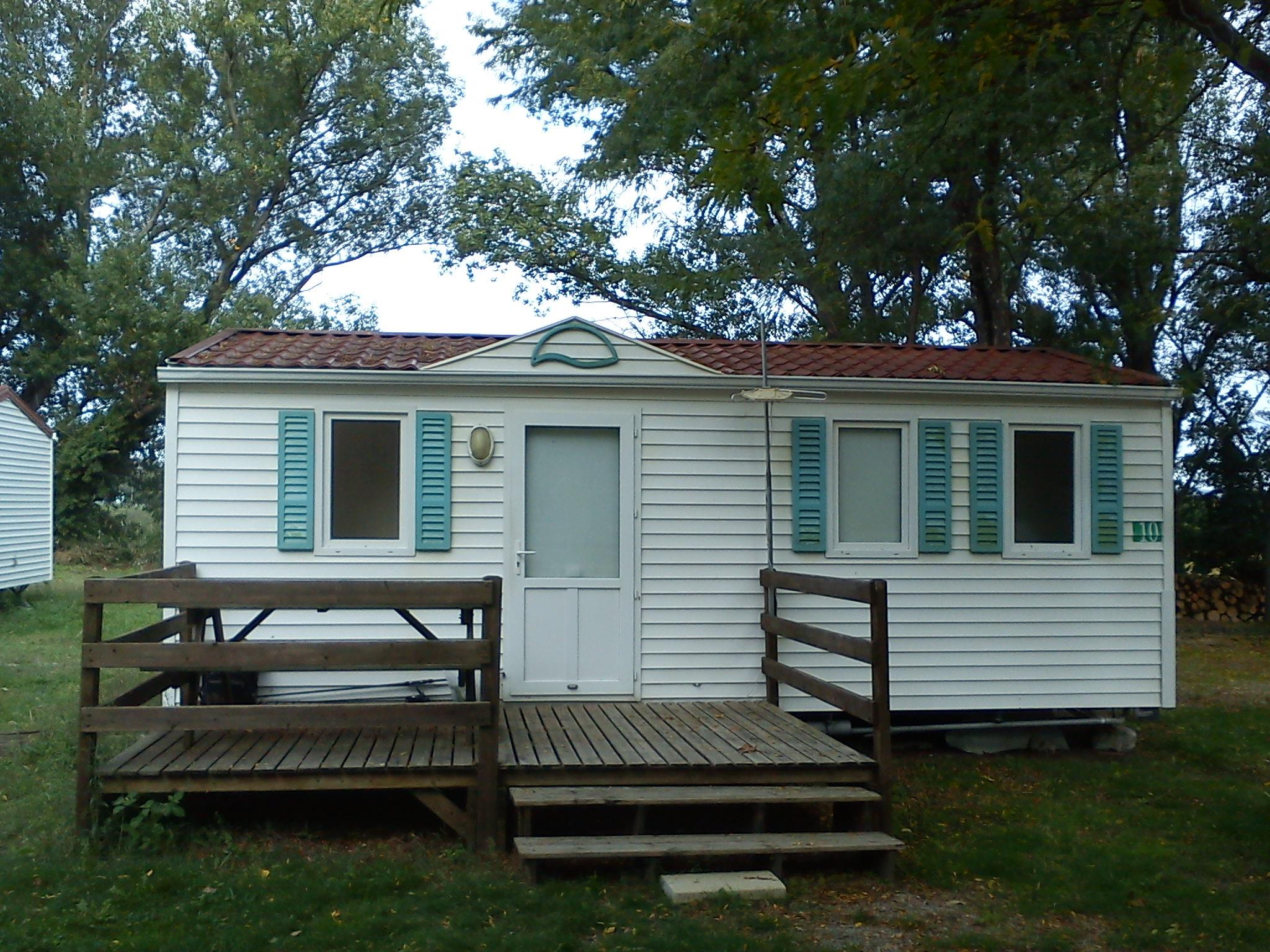 Accommodation - Mobile Home - Camping Le Mas Sud Ardèche
