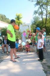 Entertainment organised Camping Le Mas Sud Ardèche - Saint Just