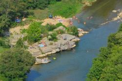 Zwemplezier Camping Les Platanes - Rosieres