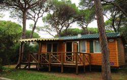 Rental - Mobile Home Resort Top Presta 29M² - Capfun - Camping Le Merle Roux