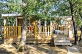 Rental - Mobile home 30m² CONFORT S (2 bedrooms + terrace) - Camping L'Ombrage