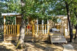 Huuraccommodatie - Mobile Home 30M² Confort D (2 Bedrooms - Terrace) - Camping L'Ombrage