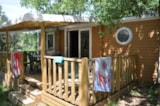 Rental - Mobile Home 30m² CONFORT D (2 bedrooms - Terrace) - Camping L'Ombrage