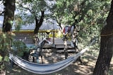 Rental - Teepee 19m² D (2 bedrooms+ Terrace without toilet blocks) - Camping L'Ombrage