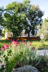 Rental - Mobile home 35m² PREMIUM AIRCON S (3 bedrooms - Covered Terrace) - Camping L'Ombrage
