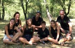 Reception team Camping L'ombrage - Lagorce - Ruoms