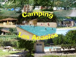 Emplacement - Emplacement + Véhicule - Camping Les Acacias