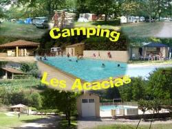 Establishment Camping Les Acacias - Uzer